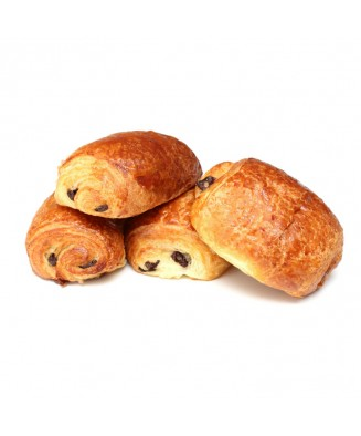 LOT DE 4 PAINS AU CHOCOLAT...