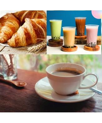CAFÉ + VIENNOISERIE + BOISSON